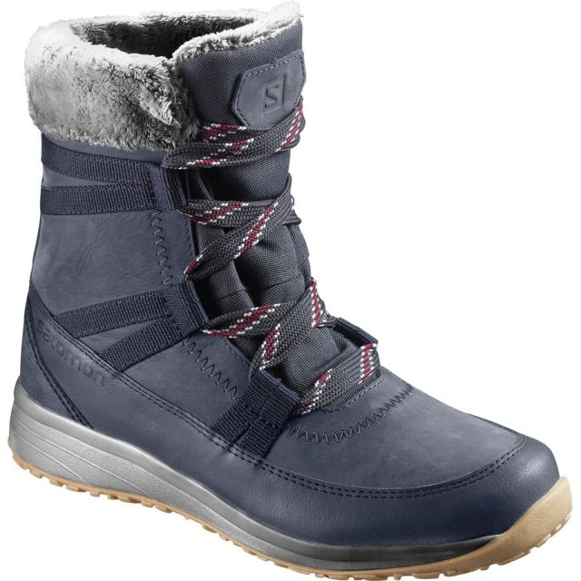 Salomon Heika Leather CS Waterproof Womens Boots