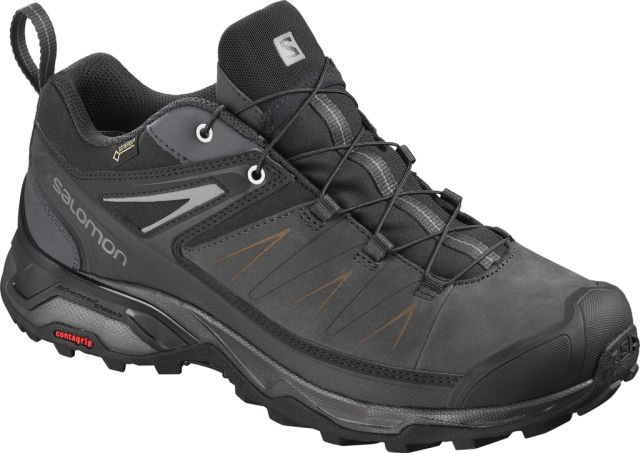 Salomon Mens X Ultra 3 Leather Gore-Tex Walking Shoes