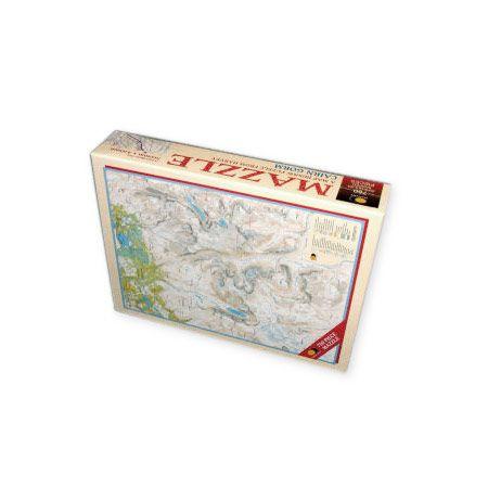 Harvey Ben Nevis Mazzle Map Jigsaw