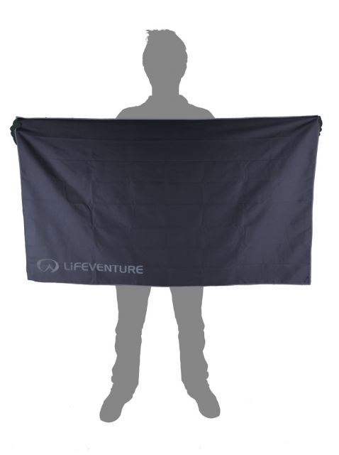 Lifeventure HydroFibre Towel Grey X-Large