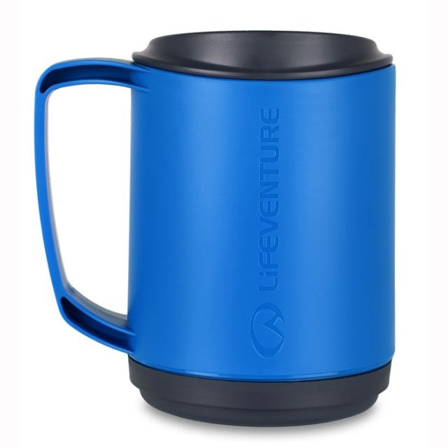 Lifeventure Ellipse insulated mug - blue