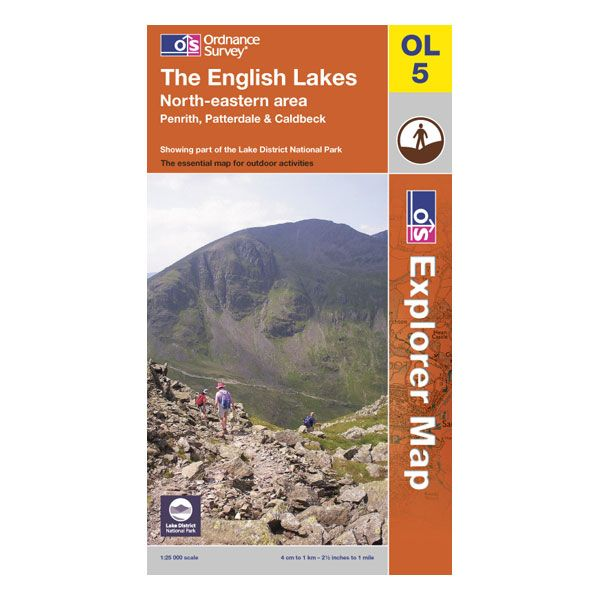 Ordnance Survey OL05 The English Lakes - North Eastern Explorer