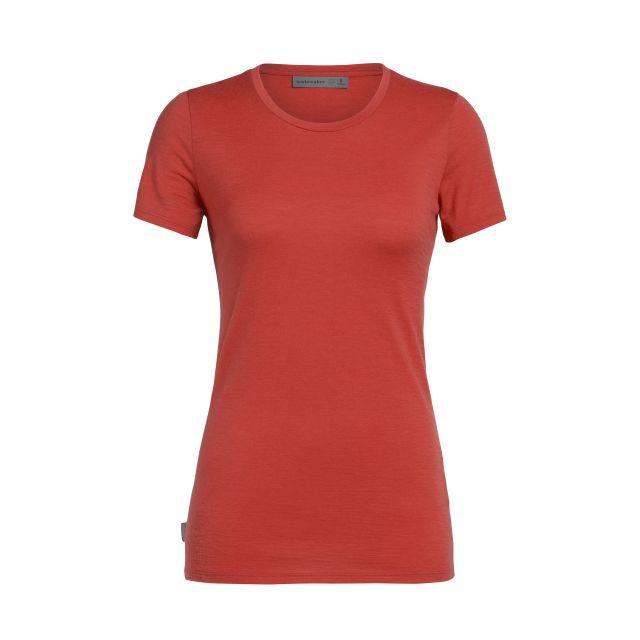 Icebreaker Tech Lite Short Sleeved Low Crewe Women's T-Shirt