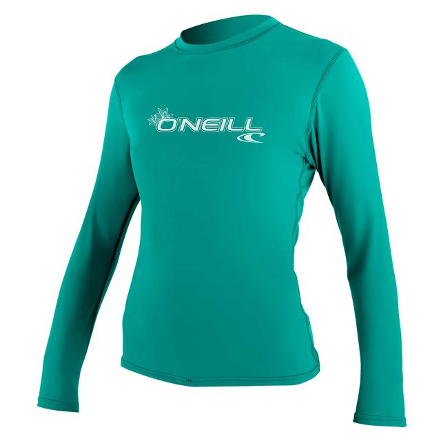 O'Neill Womens Basic Skins Long Sleeve Sun Shirt