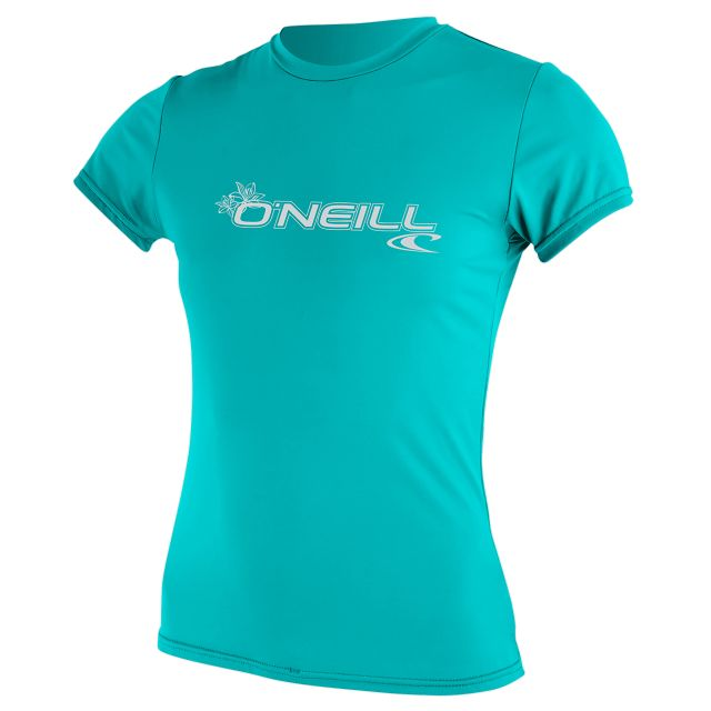 O'Neill Womens Basic Skins Short Sleeve Sun Shirt