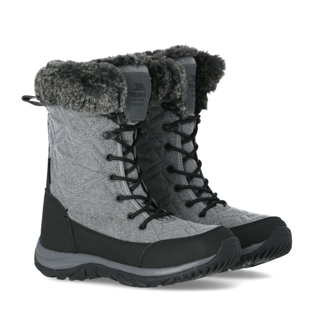 Trespass Womens Esmae Waterproof Snow Boots