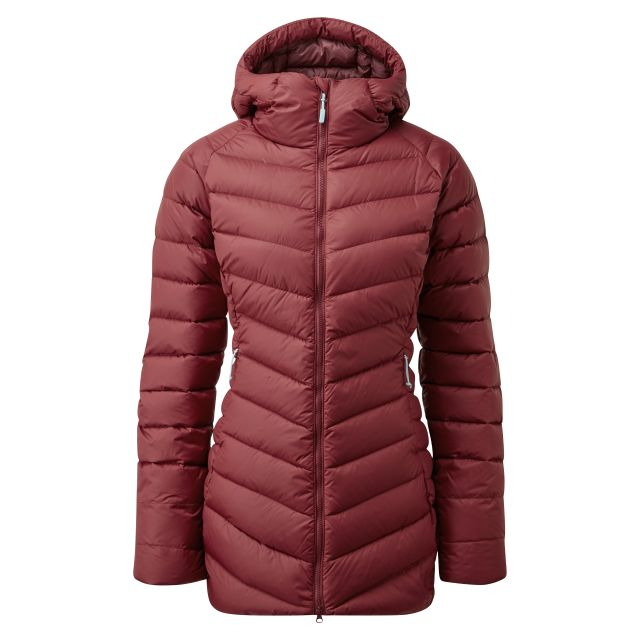 Rab Womens Aurora Insulated Down Parka Jacket
