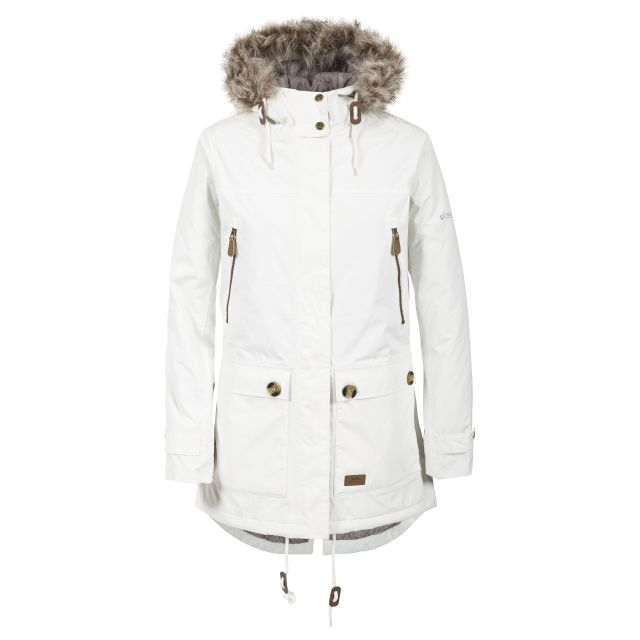 Trespass Womens Clea Waterproof Parka Jacket