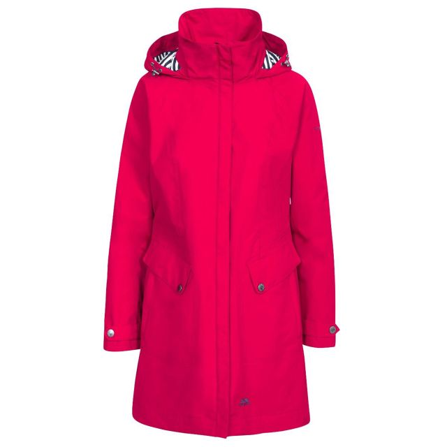 Trespass Womens Rainy Day Waterproof Jacket