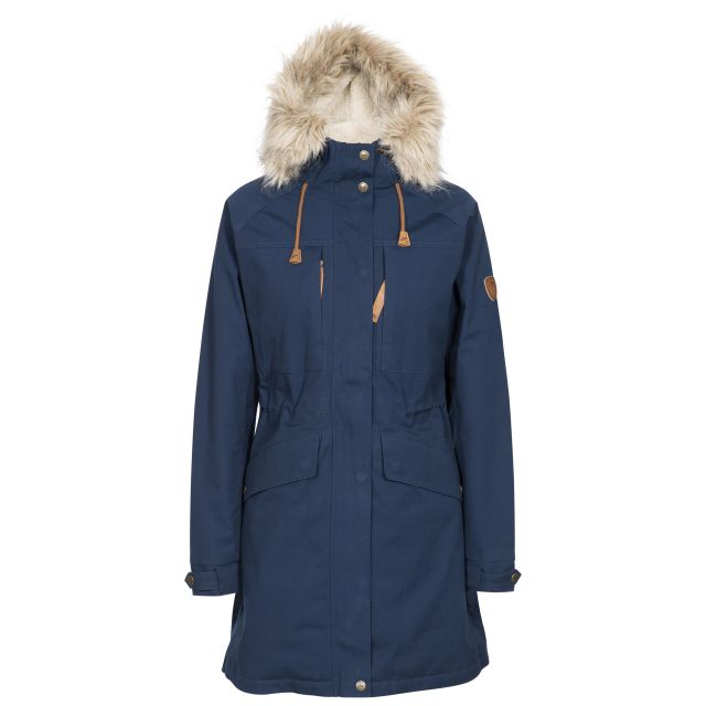 Trespass Womens Faithful Waterproof Parka Jacket