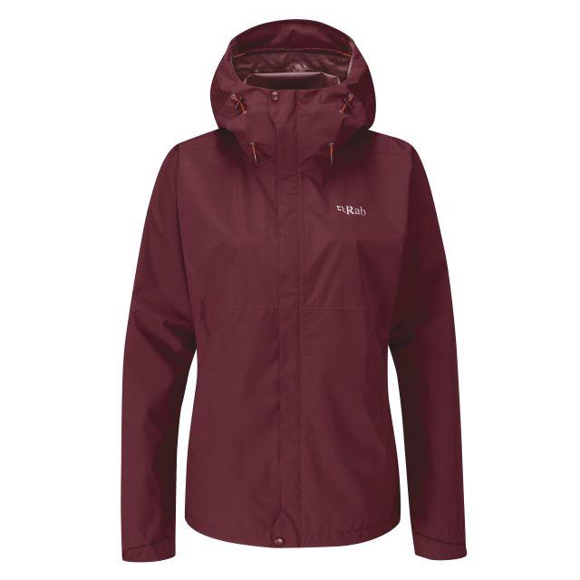 Rab Womens Downpour Eco Waterproof Jacket