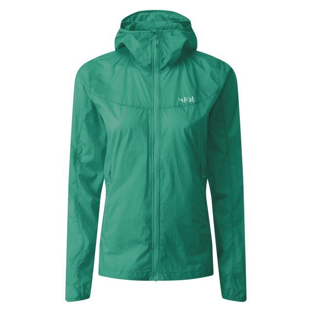 Rab Womens Vital Windshell Hooded Jacket