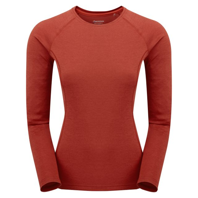 Montane Dart Womens Base Layer Long Sleeve Top