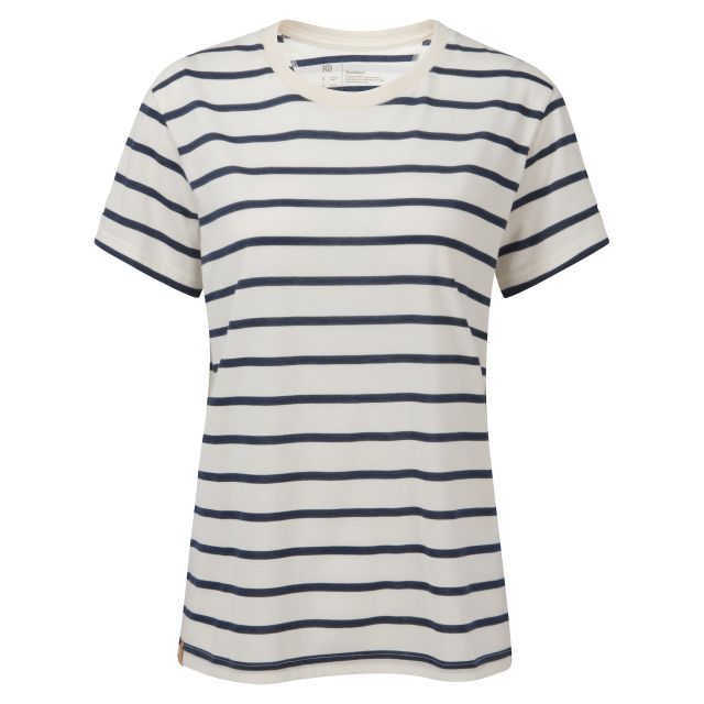 Tentree Brenton Stripe Womens T Shirt