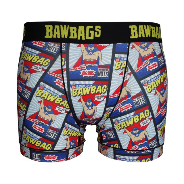 BawBags Mens New Hero Boxers
