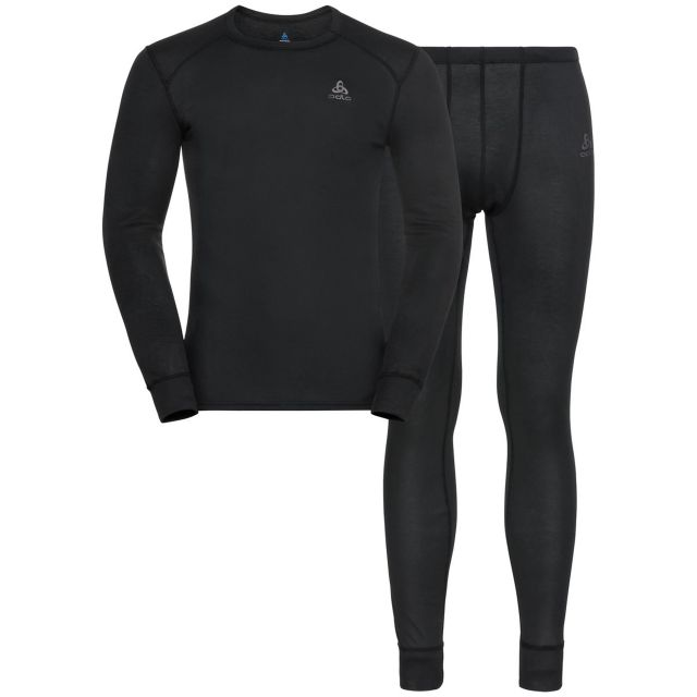 Odlo Mens Active Warm Eco Long Baselayer Set