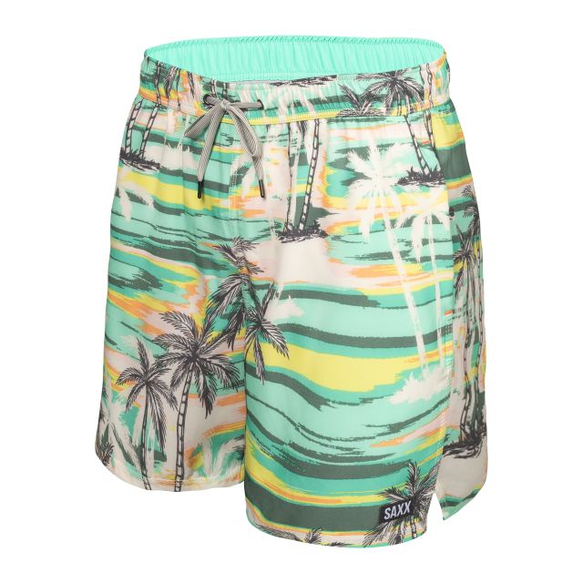 """Saxx Oh Buoy 2 in 1 Volley 5"""" Mens Swim Shorts"""