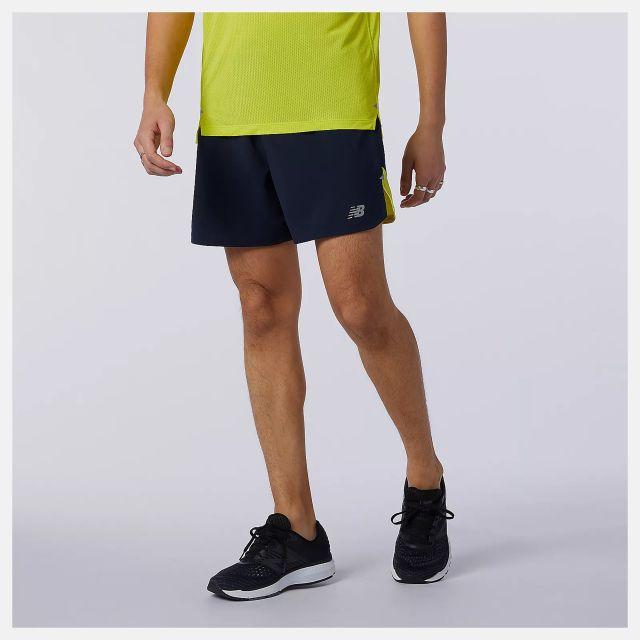 "New Balance Impact 5"" Mens Running Shorts"