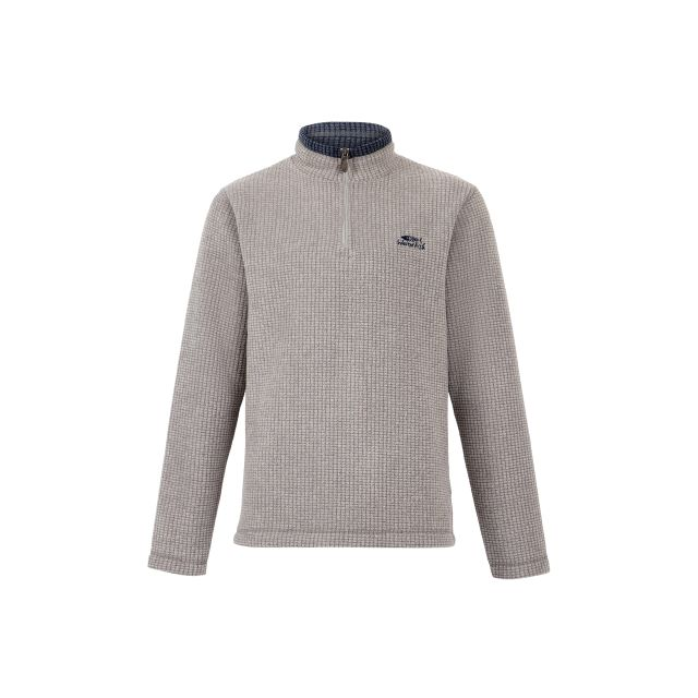 Weird Fish Mens Newark Quarter Zip Grid Fleece