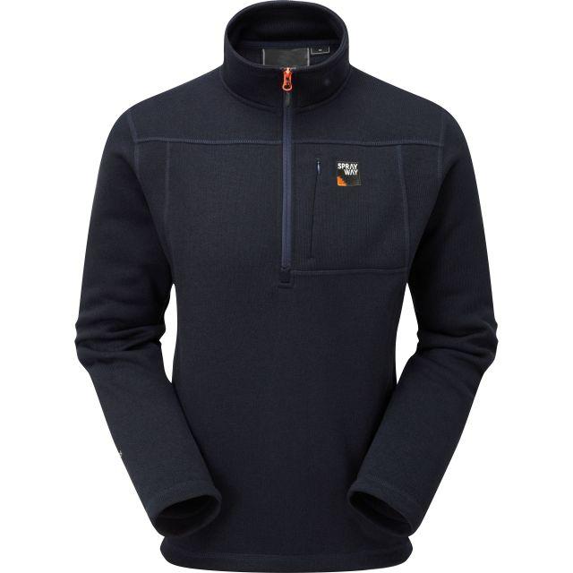 Sprayway Mens Minos Half Zip Fleece Jacket