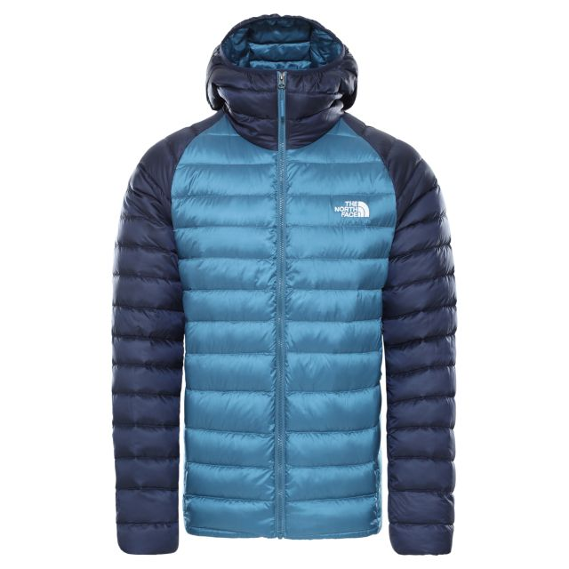 The North Face Mens Trevail Packable Hooded Insulated Jacket