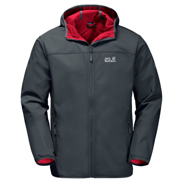 Jack Wolfskin Mens Northern Point Softshell Jacket