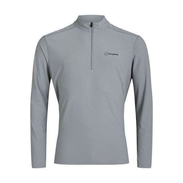 Berghaus Mens 24/7 Long Sleeve Half Zip Tech T Shirt