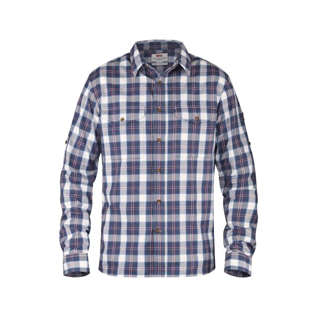 Fjallraven Mens Singi Short Sleeve Flannel Shirt