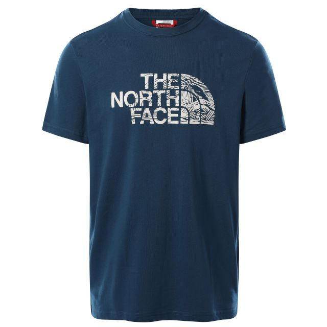 The North Face Mens Woodcut Round Neck T Shirt
