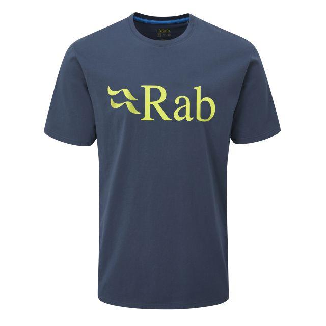 Rab Mens Stance Logo Short Sleeve T Shirt