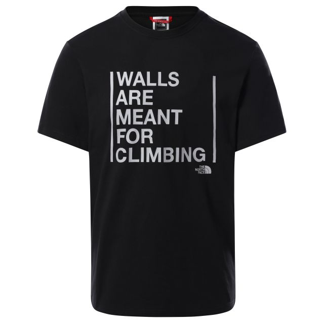 The North Face Mens Walls Are For Climbing T-Shirt