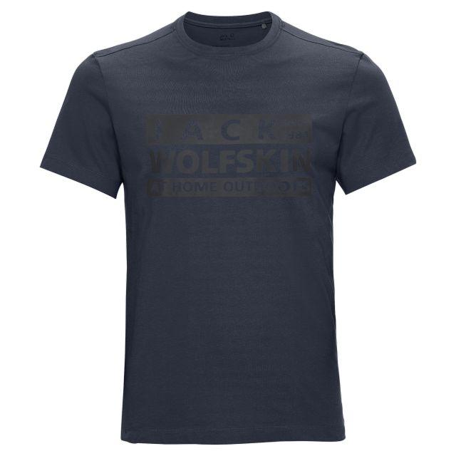 Jack Wolfskin Mens Brand T Shirt
