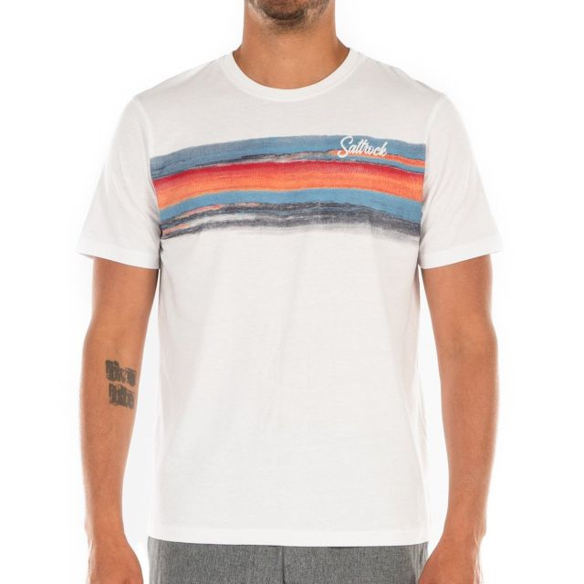 Saltrock Painted Stripe Mens T Shirt
