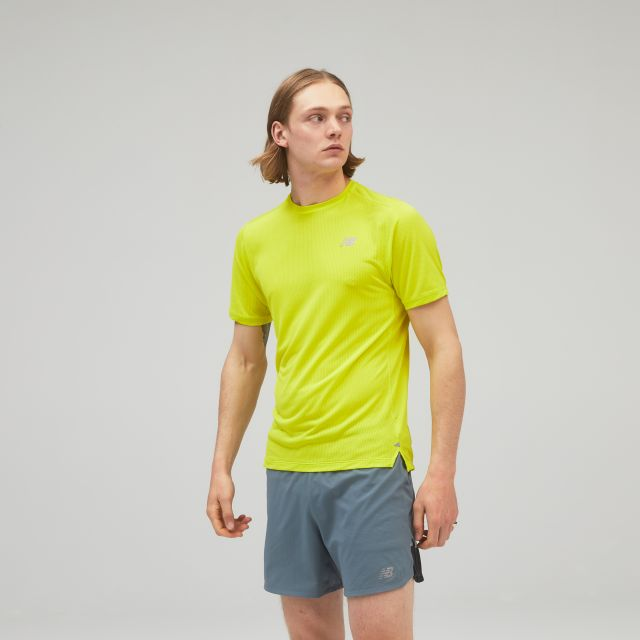 New Balance Impact Mens Short Sleeve T Shirt