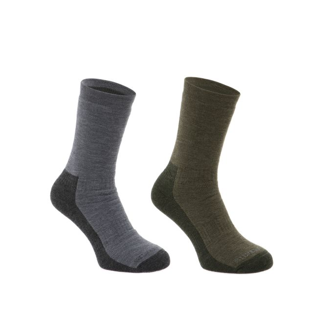 Silverpoint Merino Wool Hiker Socks 2 Pack