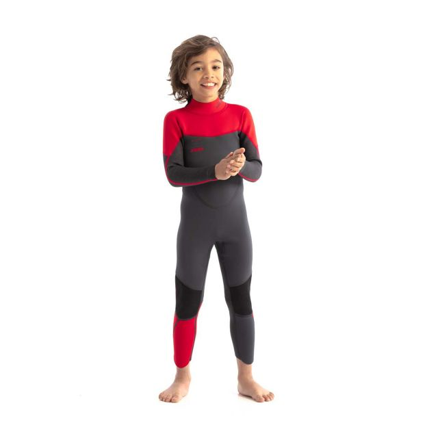 Jobe Kids Boston 3/2mm Red Full Wetsuit