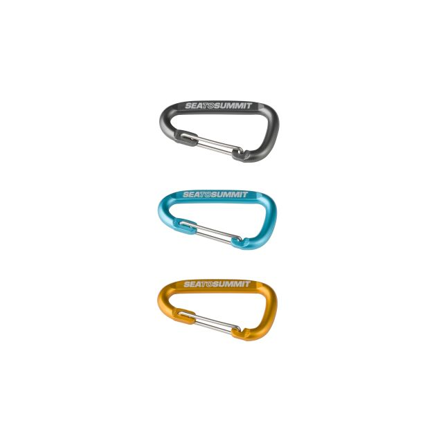 Sea To Summit 3 Piece Carabiner Set
