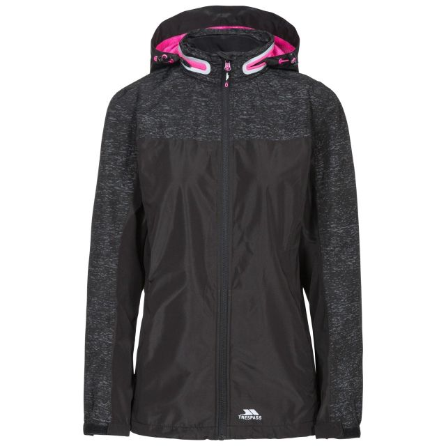 Trespass Women's Attraction Hi-Visability Waterproof Jacket