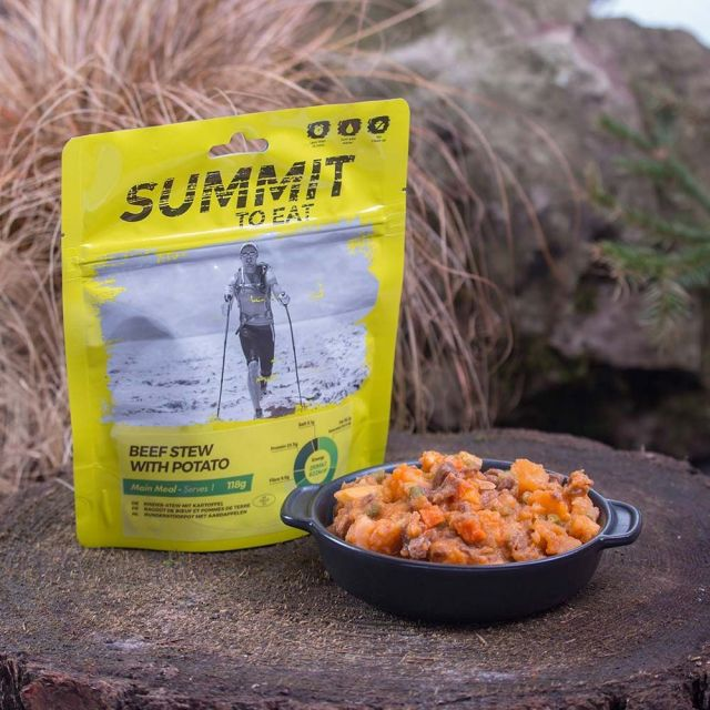 Summit To Eat Beef and Potato Camping Food