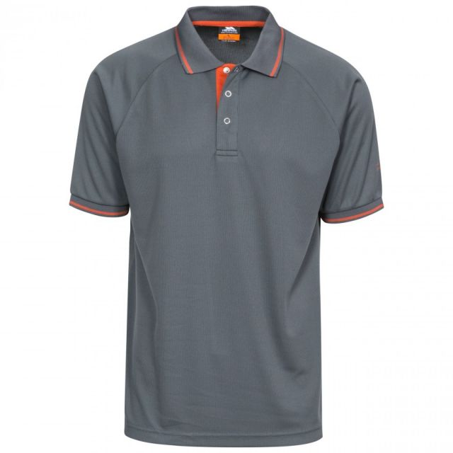 Trespass Men's Bonington Quick Dry Polo Shirt