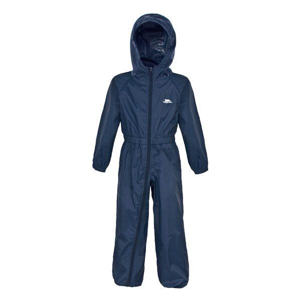 Trespass Kid's Button Rain Suit