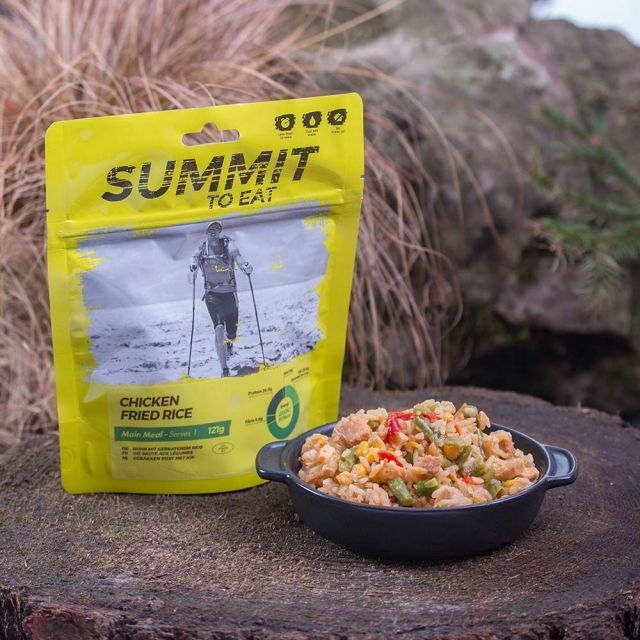 Summit To Eat Chicken Fried Rice Camping Food