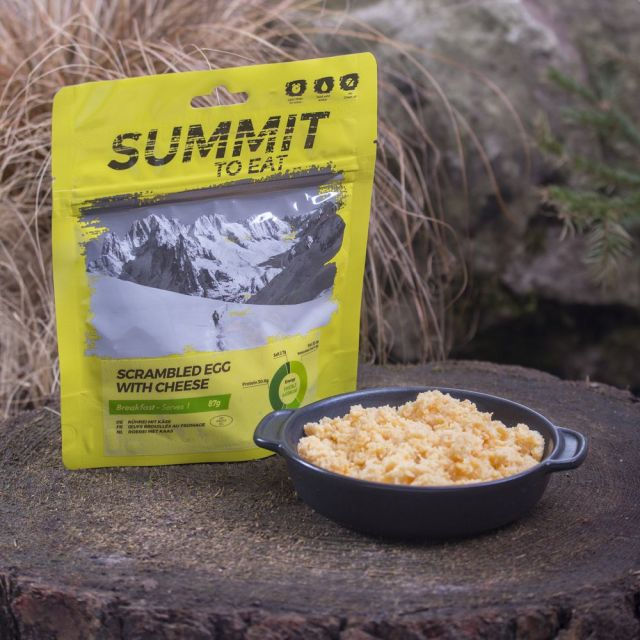 Summit To Eat Scrambled Egg with Cheese Camping Food