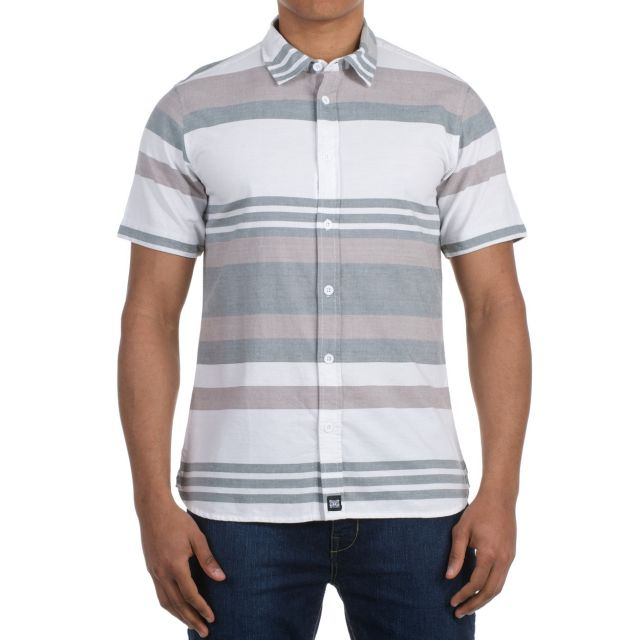 Animal Sinbad Strip Short Sleeve Shirt Mens