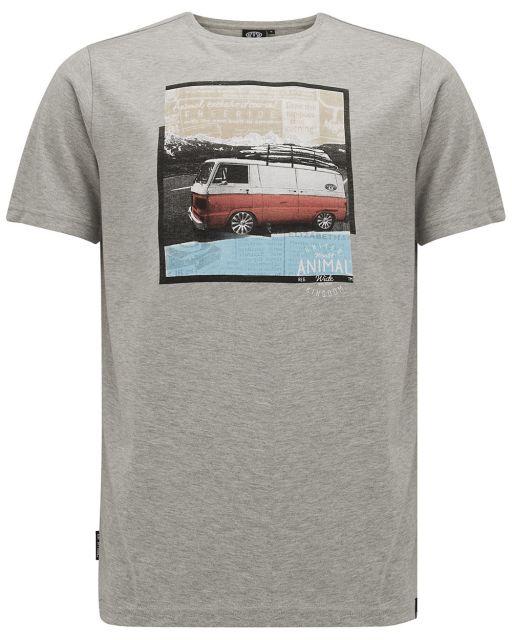 Animal Mens Camper Graphic T-Shirt