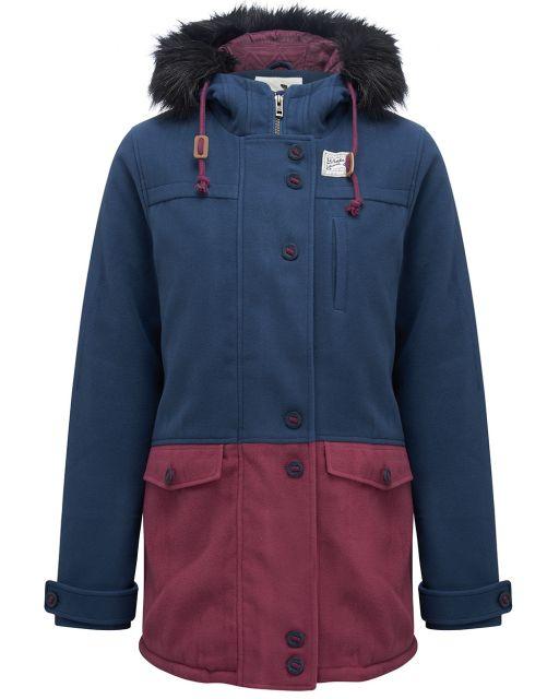 Animal CITY SLICKER Jacket Full Zip Womens