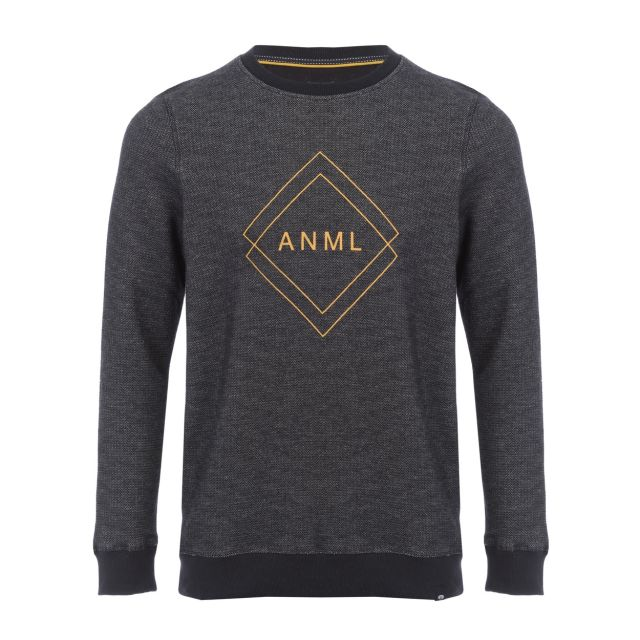 Animal Dano Mens Crew Neck Sweatshirt