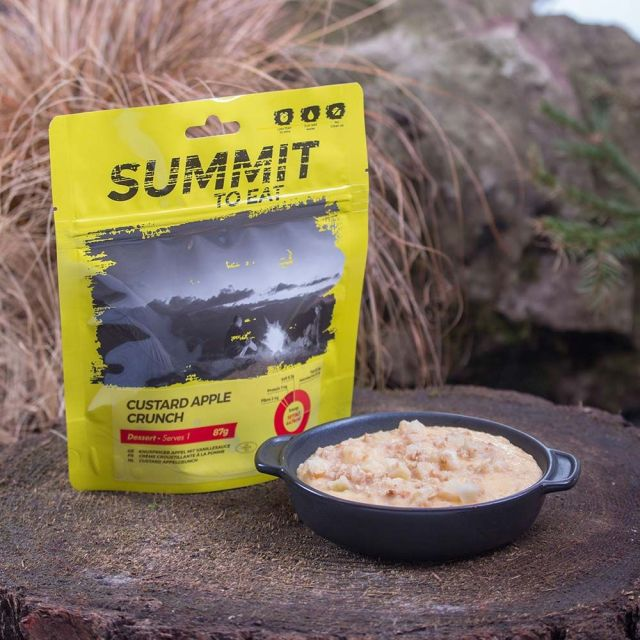 Summit To Eat Custard Apple Crunch Camping Food