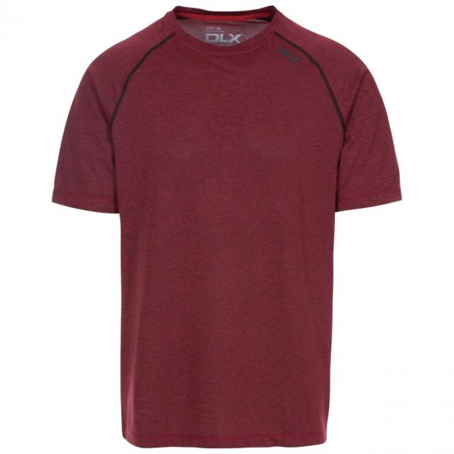 DLX Men's Deckard Antibacterial Active T Shirt