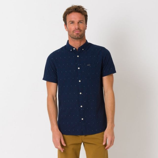 Animal Mens Dobby Short Sleeve Shirt